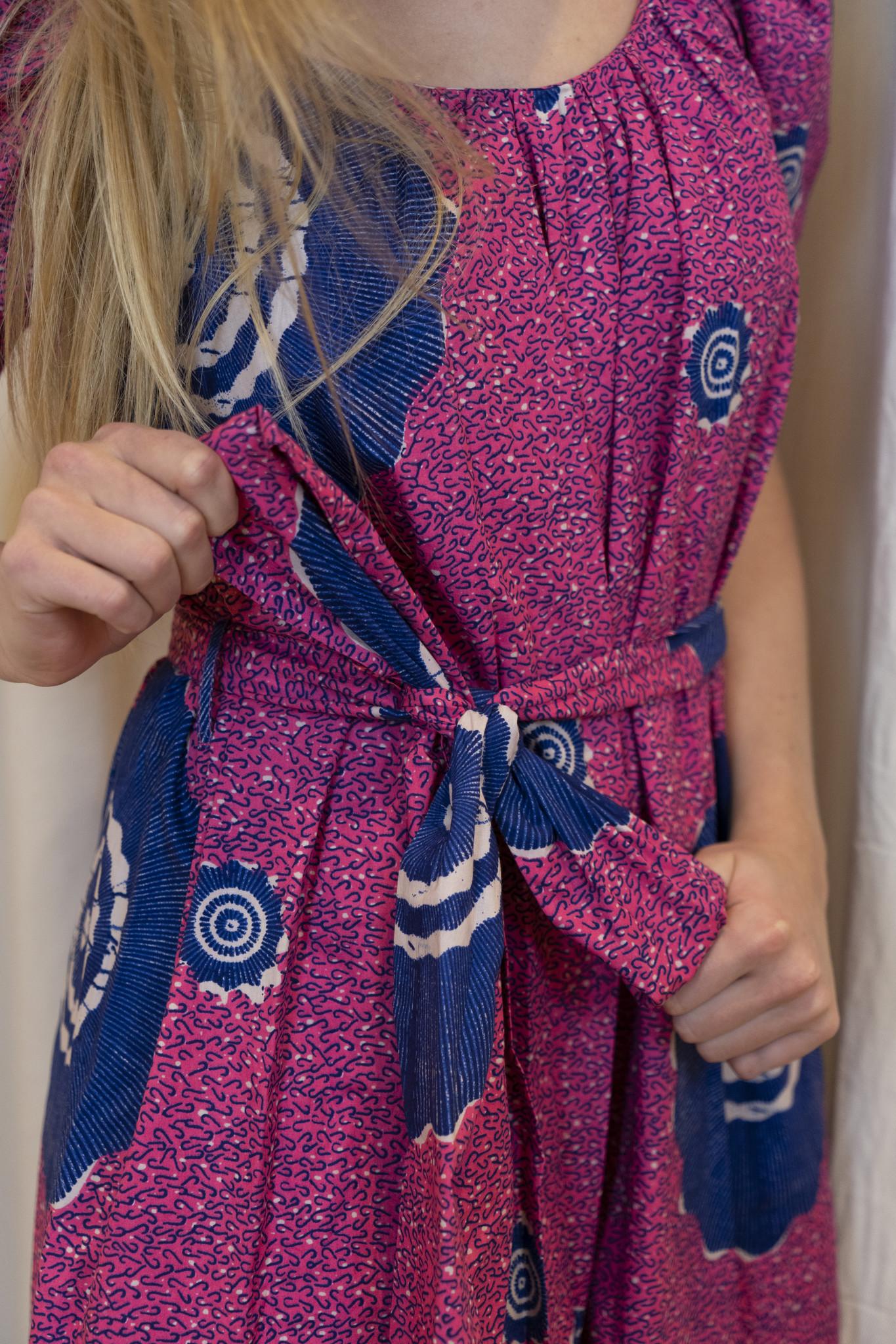 Perla jumpsuit fuchsia