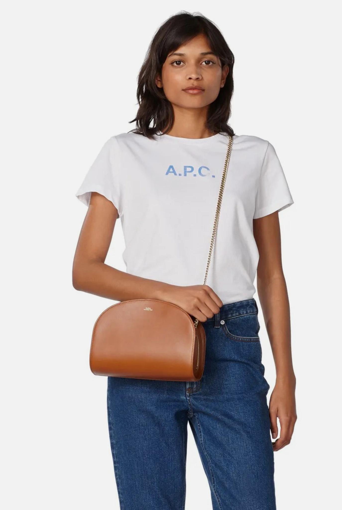 T-shirt Stamp A.P.C. White
