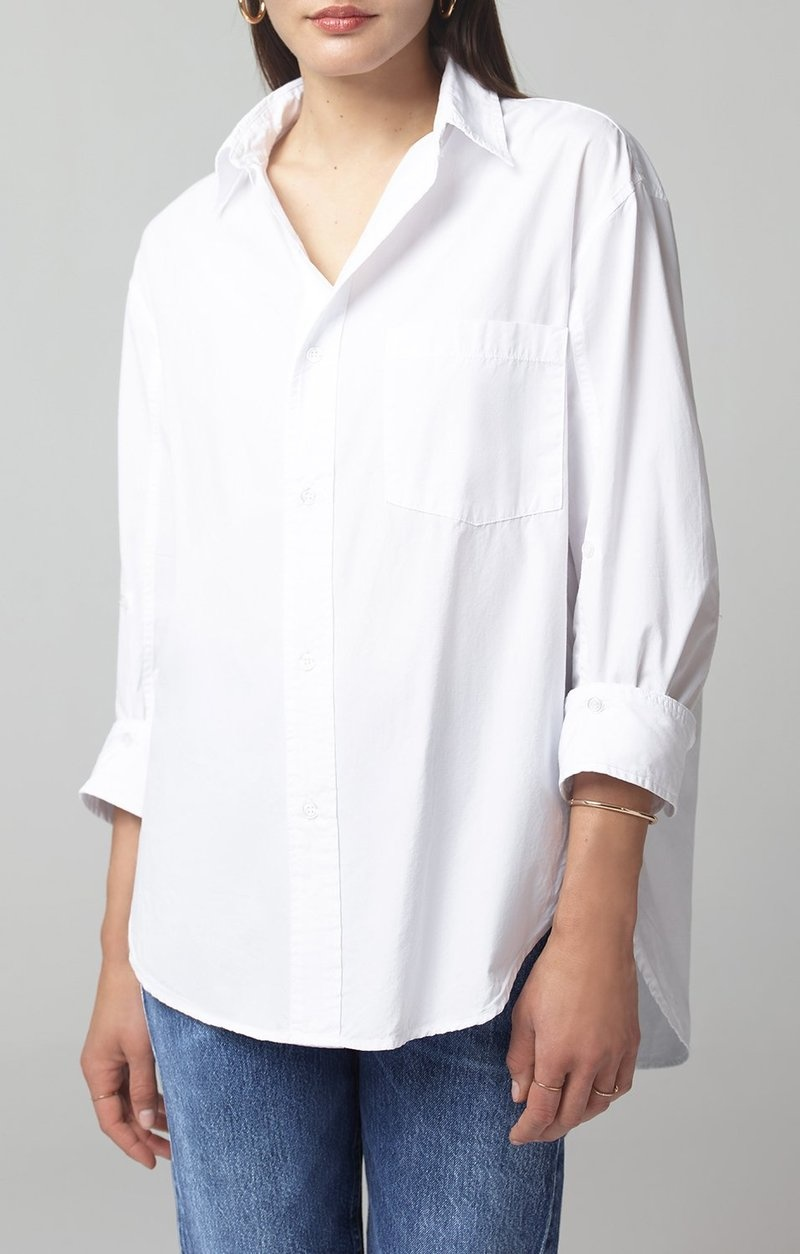 Kayla shirt Optic white