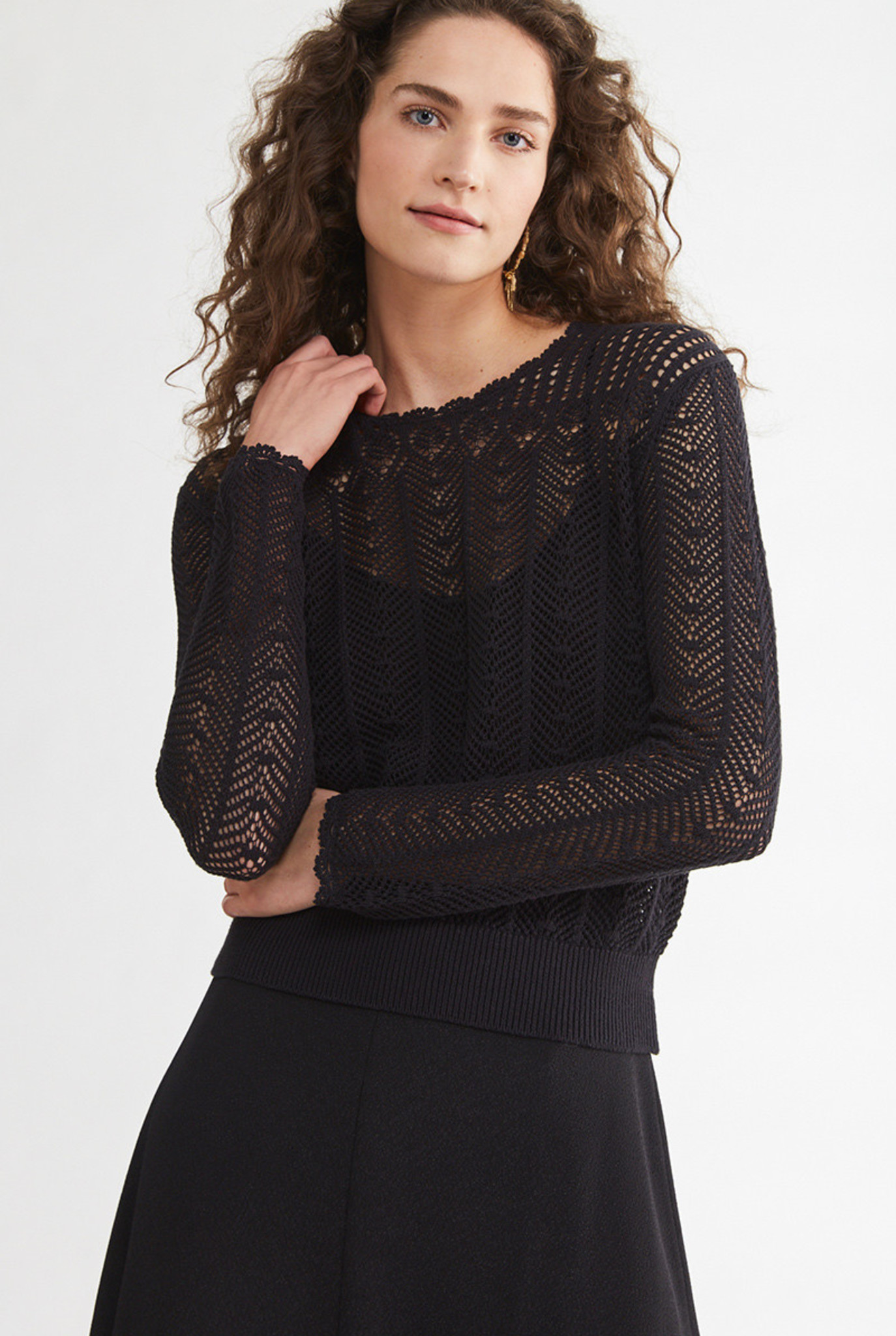 Nansa sweater Black