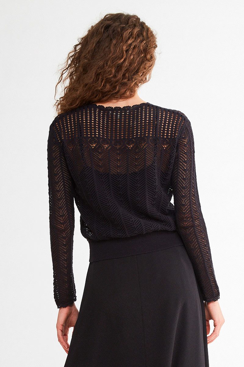 Nansa sweater Black