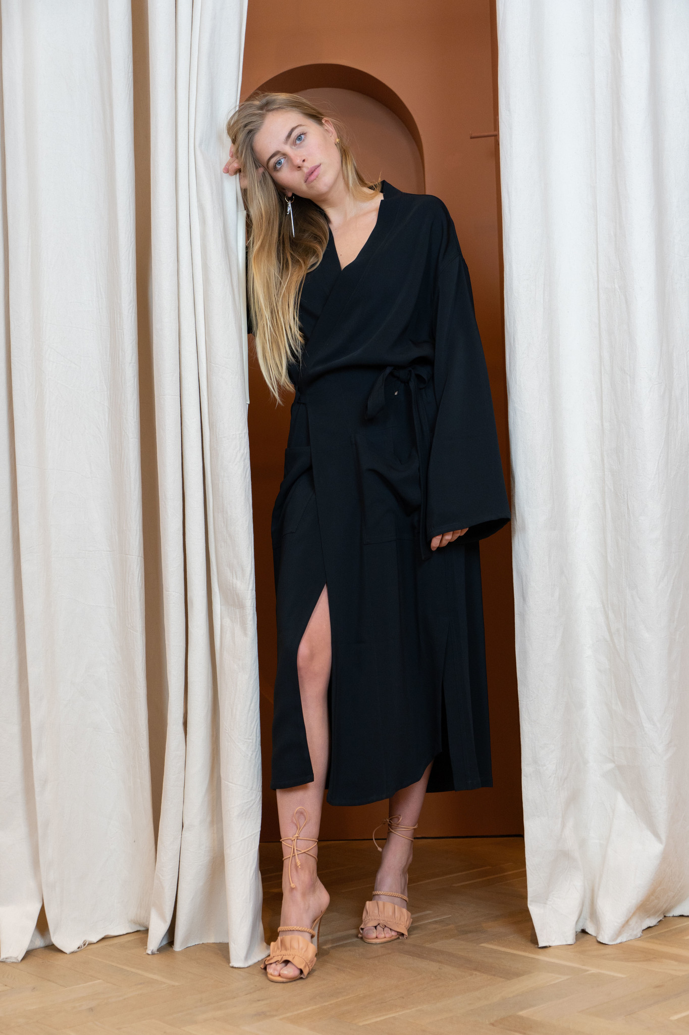 Kimono Black stretch