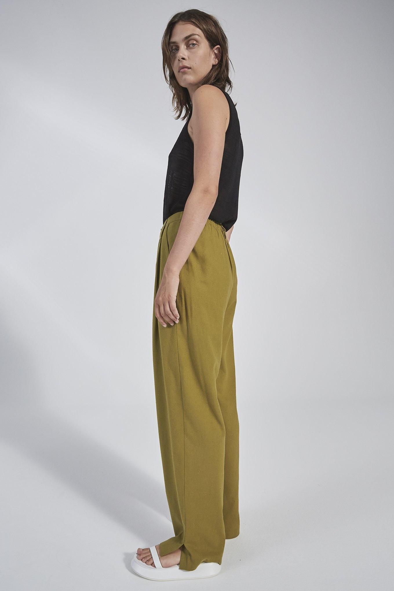 Harry trouser Pickle Green