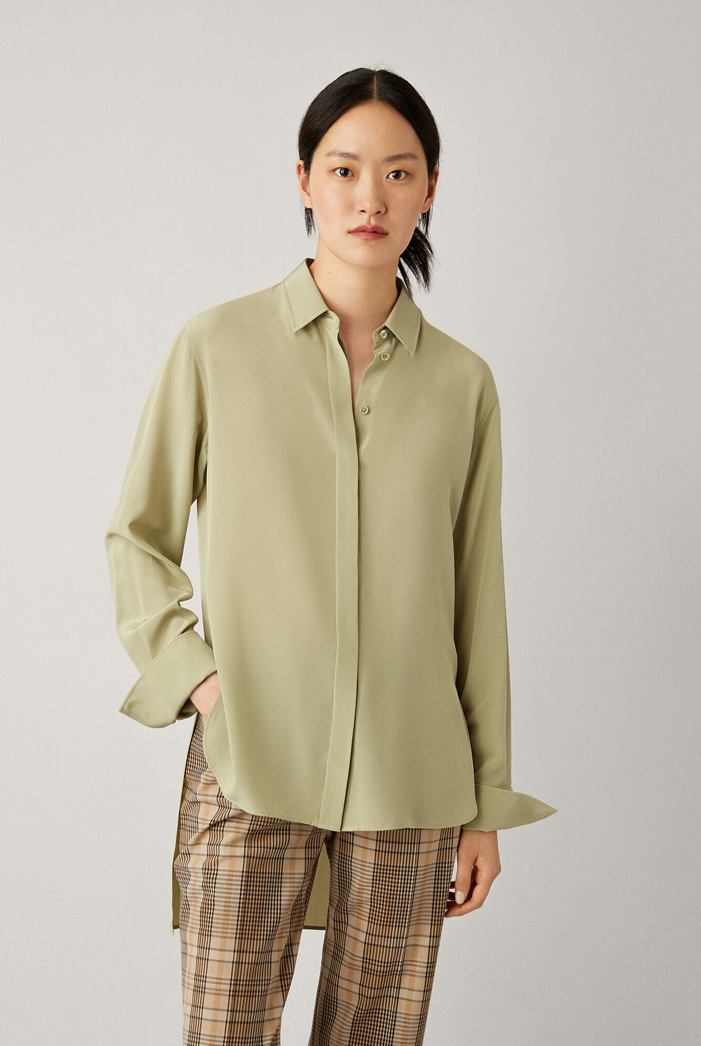 Oldfield blouse Sage