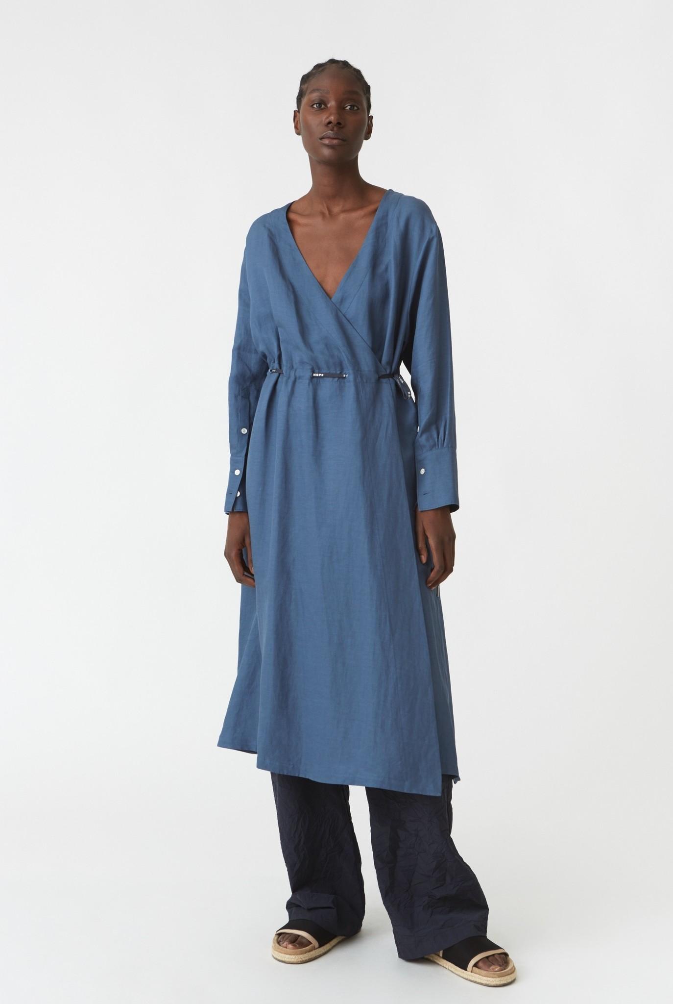 Praise dress Blue