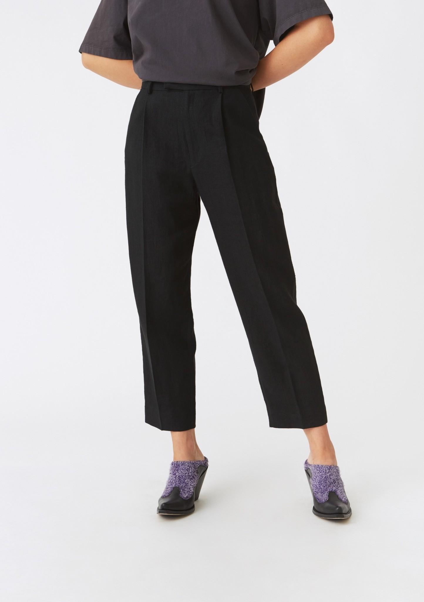 Alta trousers Black linen
