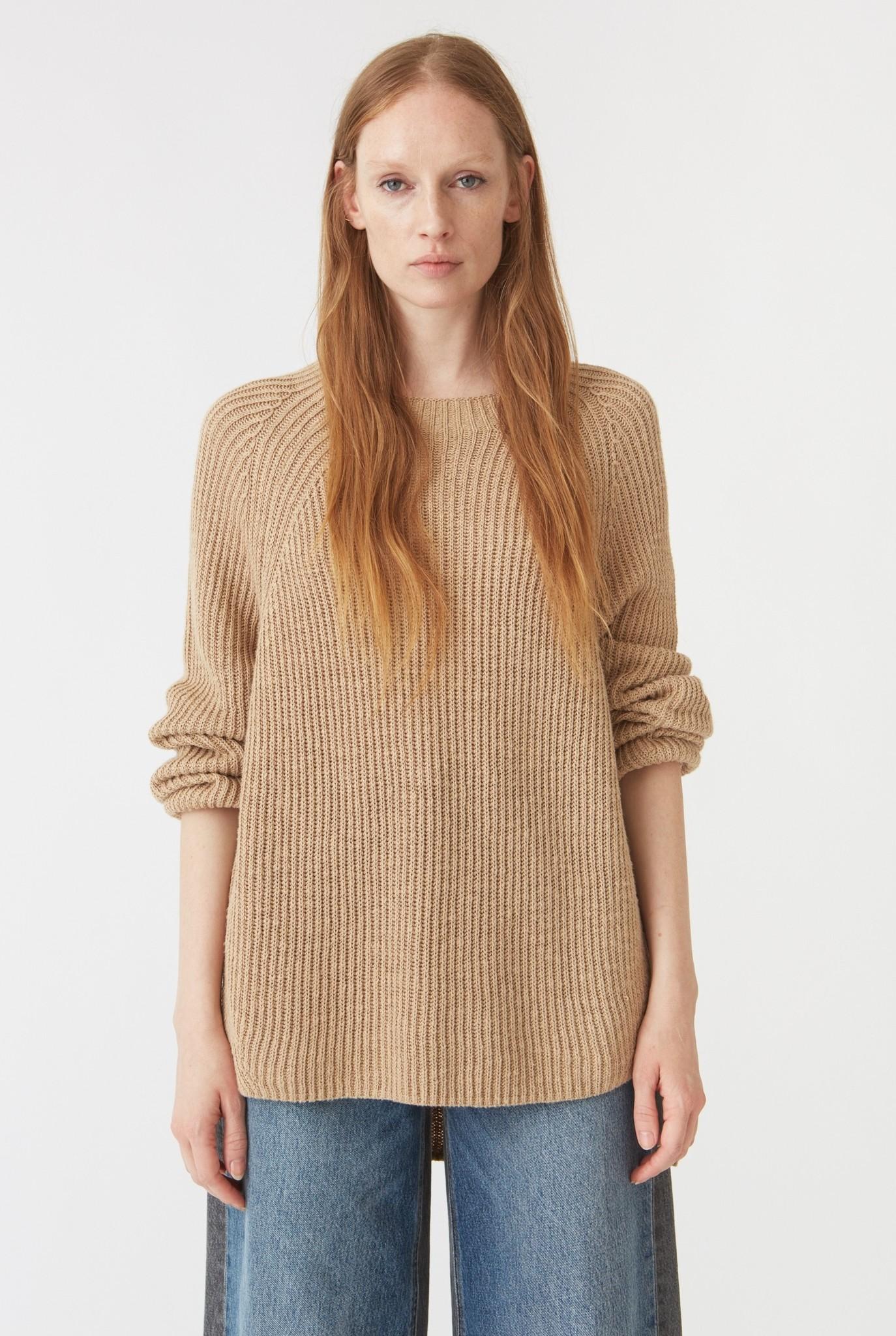 Blank sweater Oat Beige