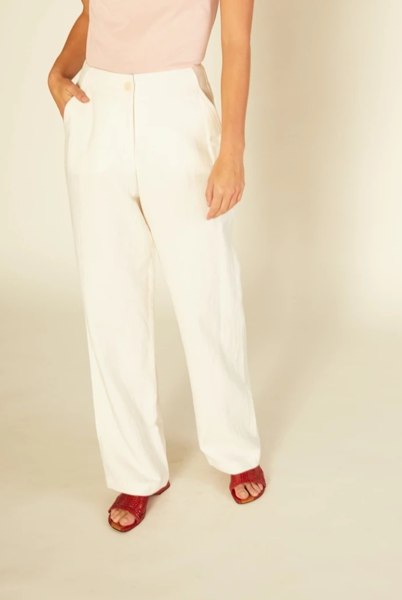 Jupiter trouser White