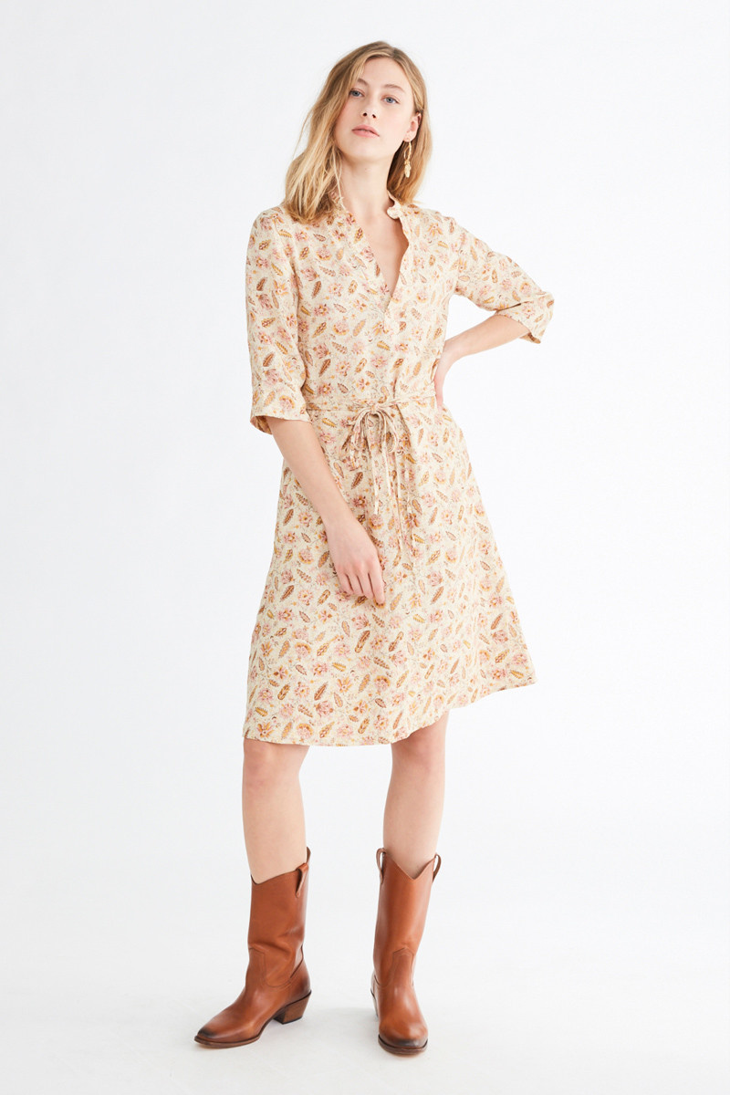 Nova Dress Creme