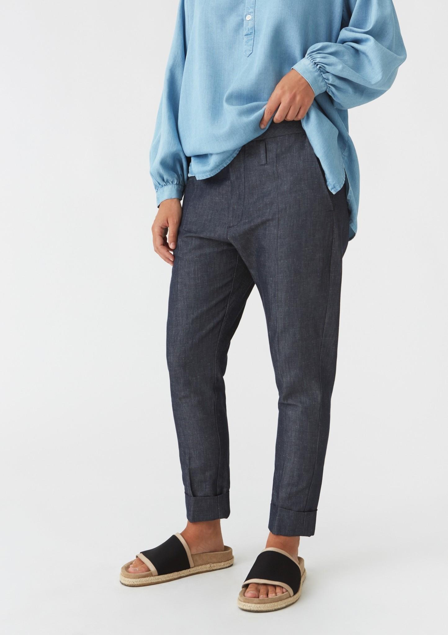 Law trousers indigo