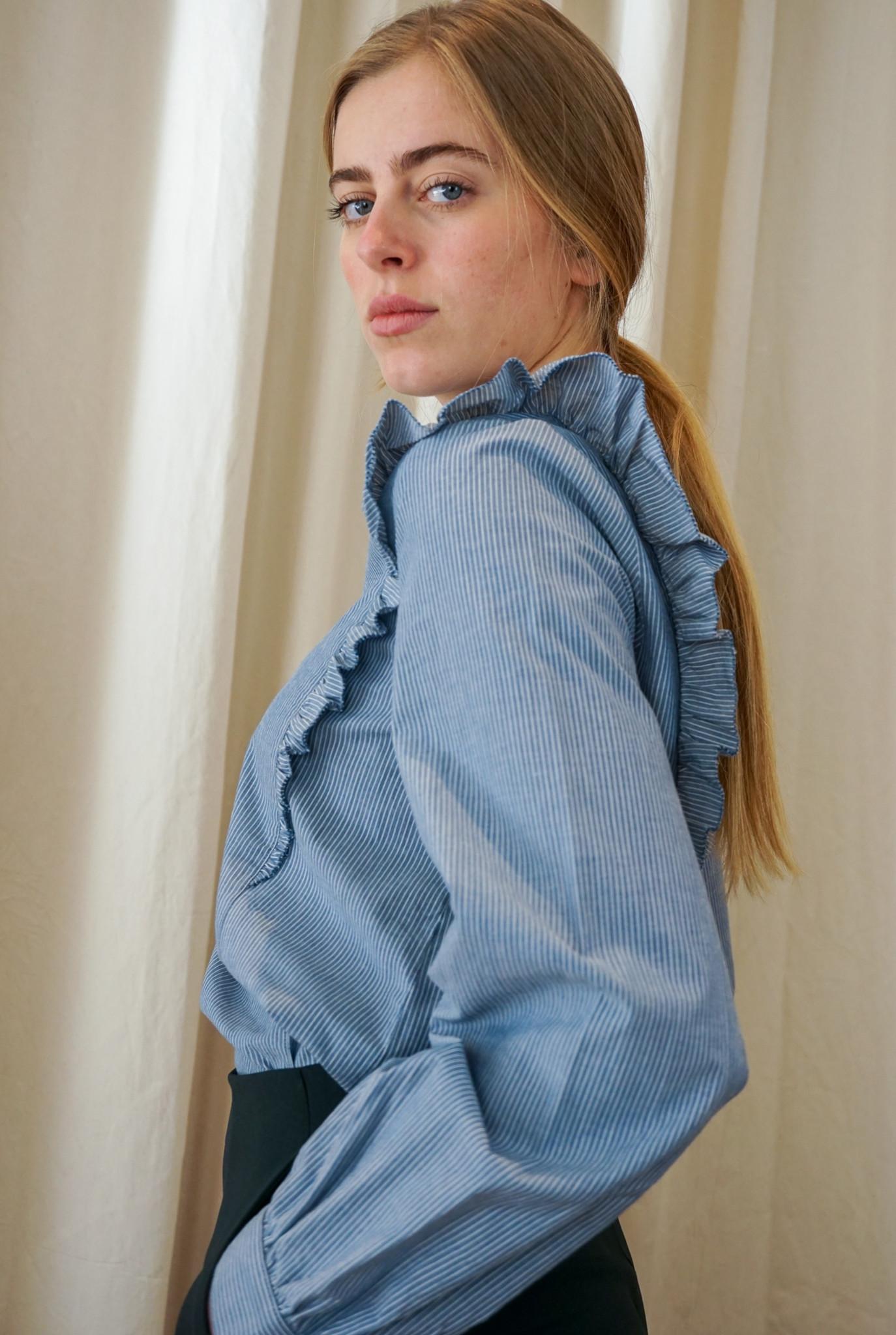Noemie blouse Bleu