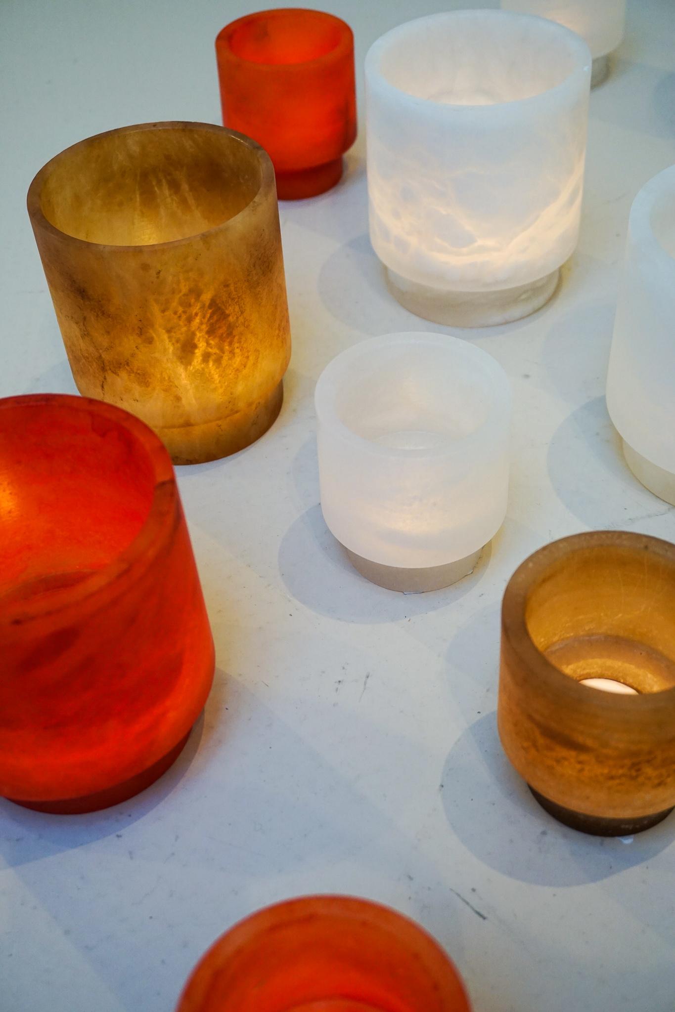 Alabaster TLight holder S red