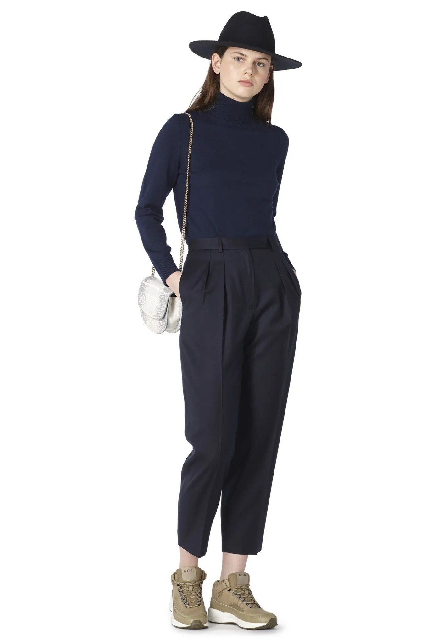 Cheryl trouser Dark Navy
