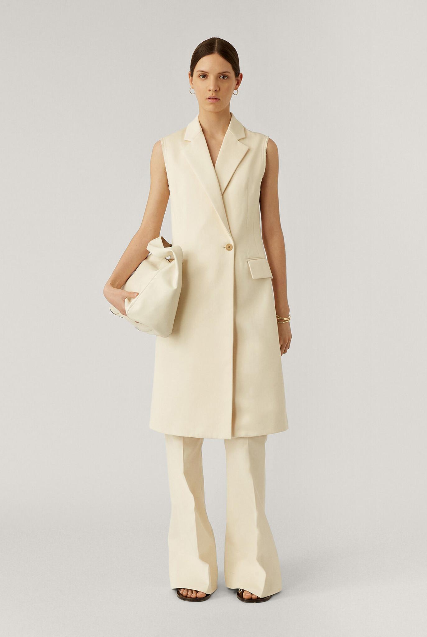 Cyrielle coat Cream