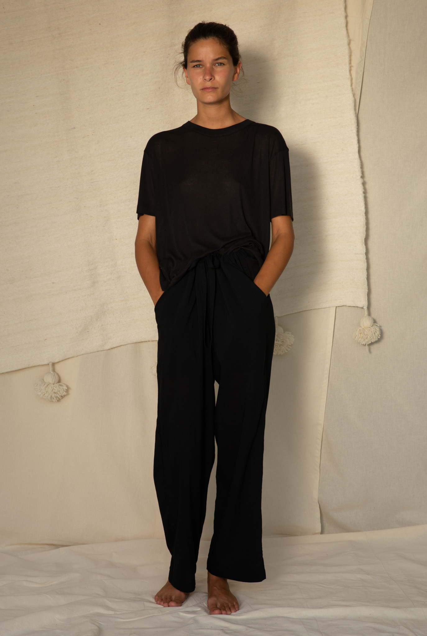 Relaxed t-shirt S/S Black