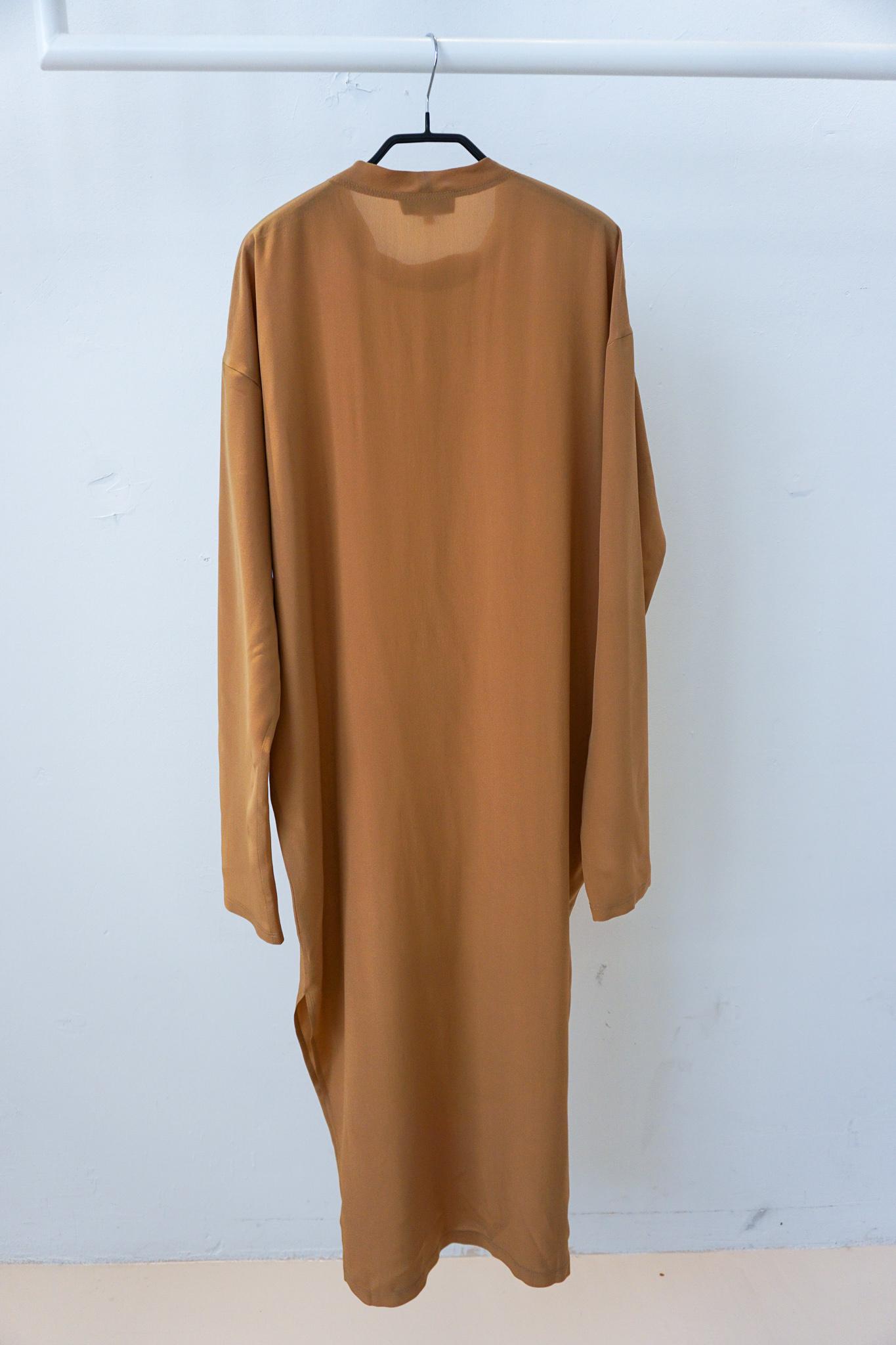 LOL split dress Cappuchino Silk