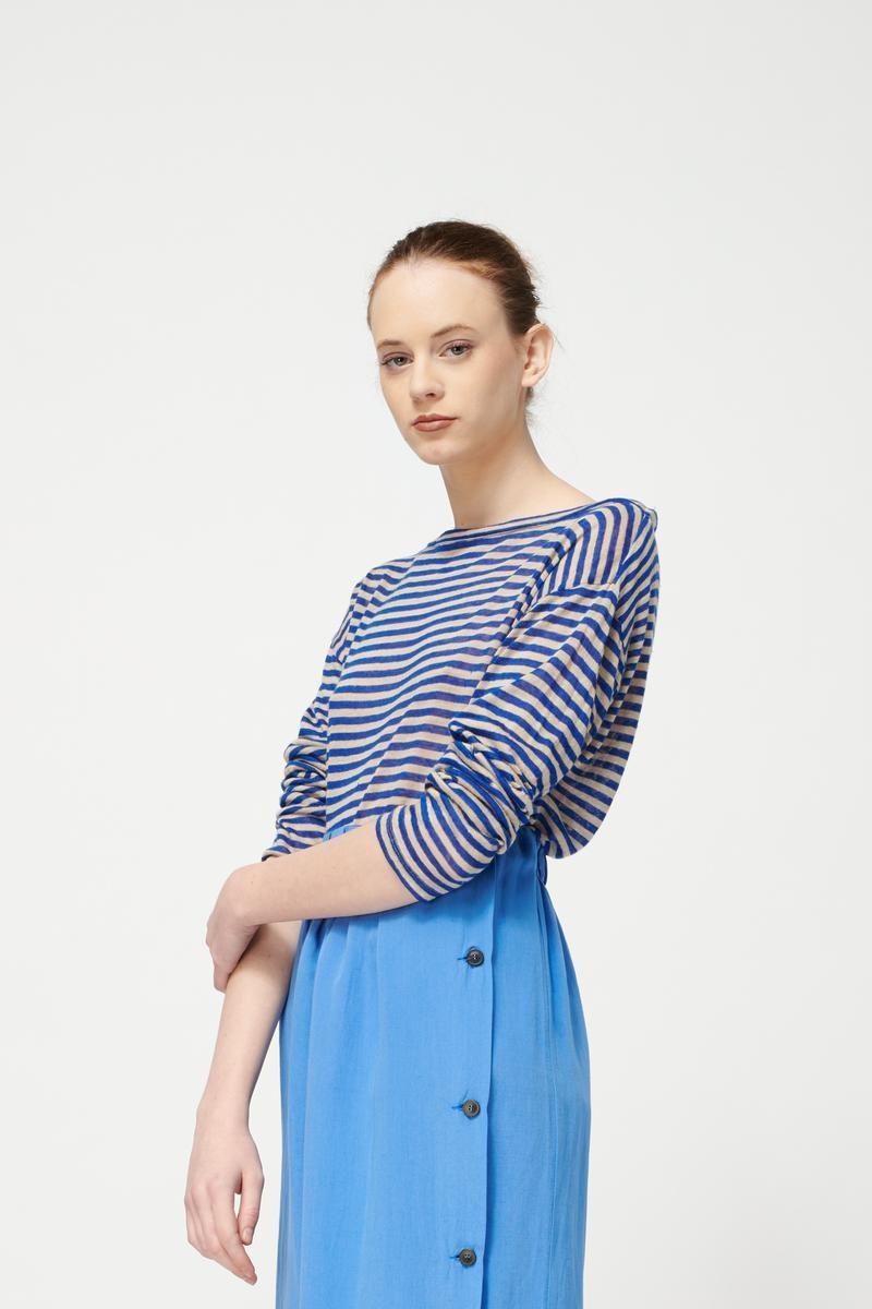 Button down skirt Sky Blue