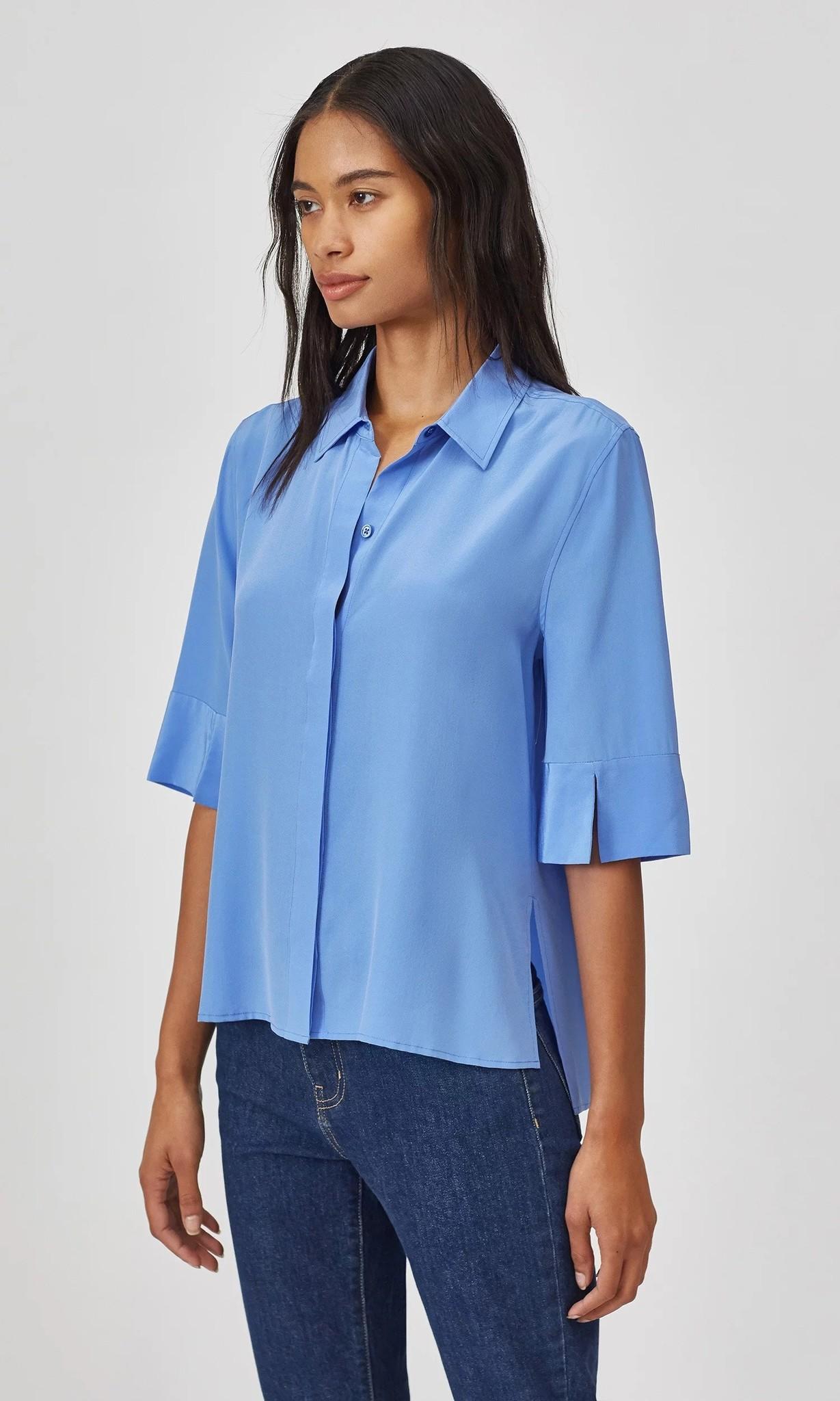 Sahara blouse Sky