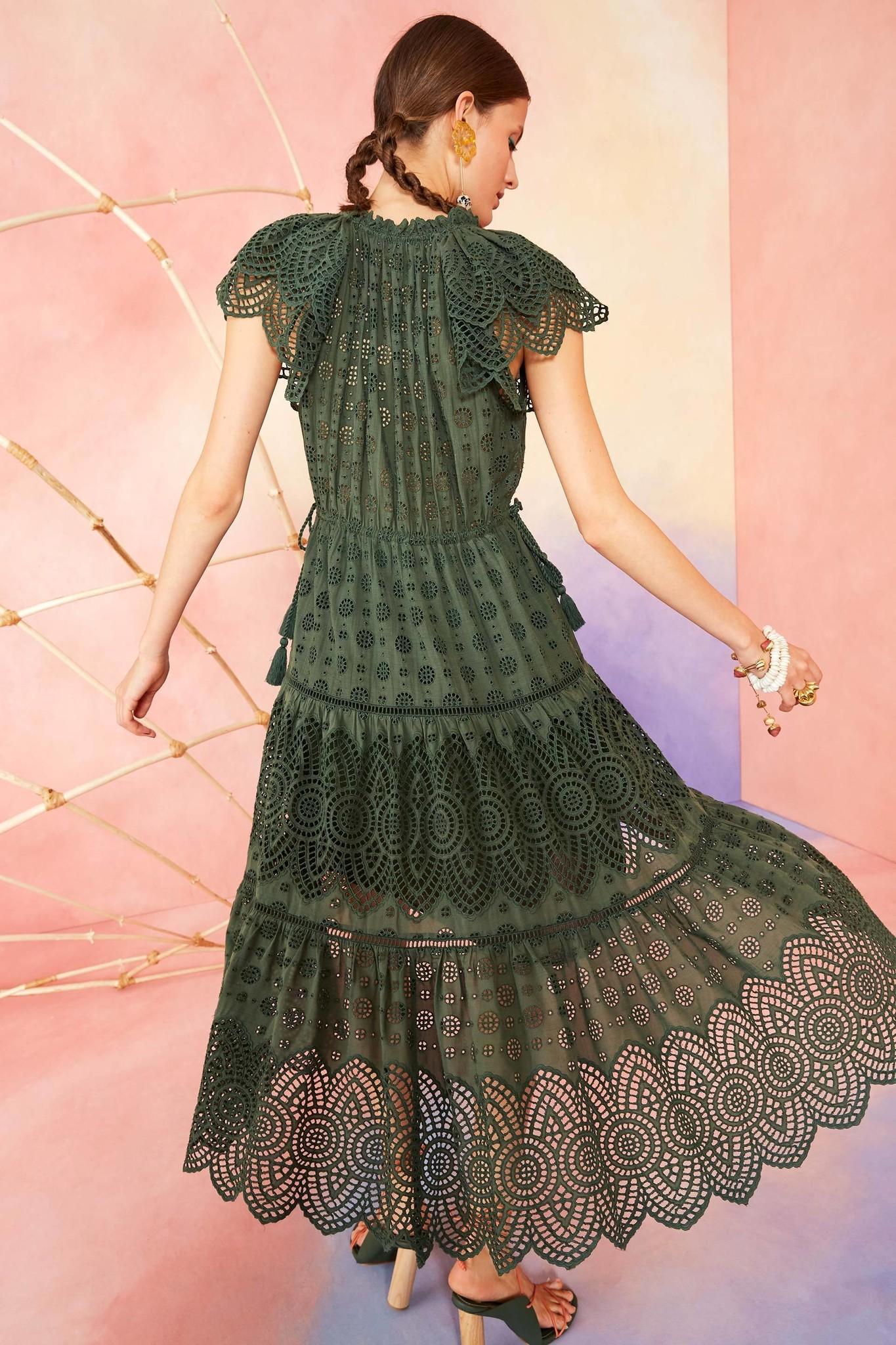 Gianna dress Army