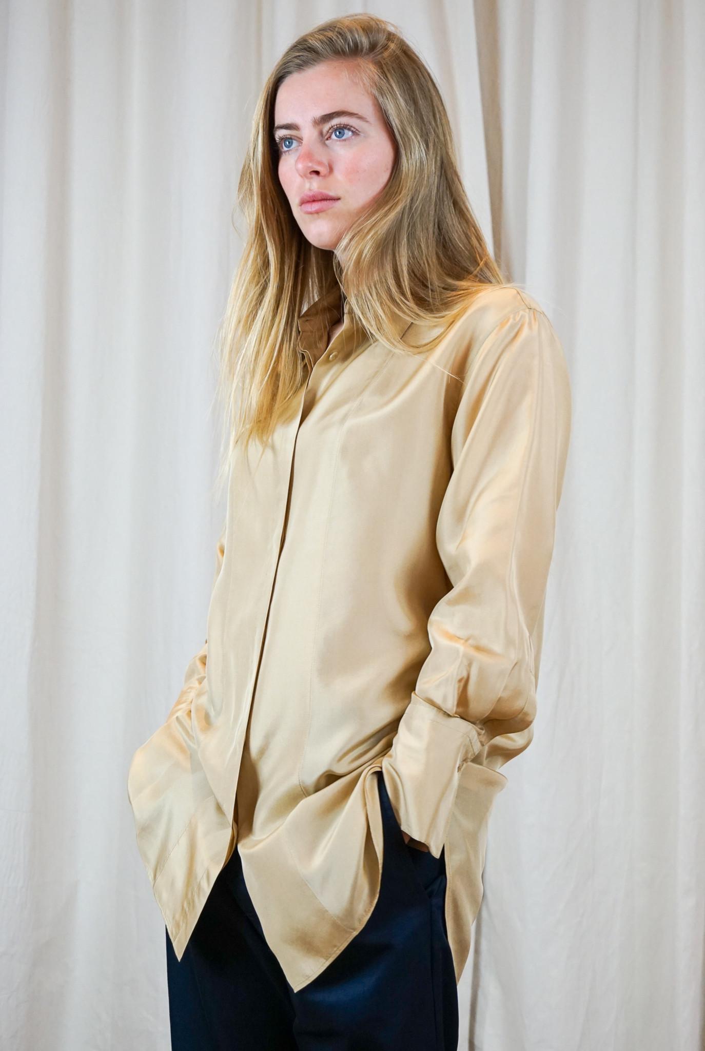 Dawson blouse Chai