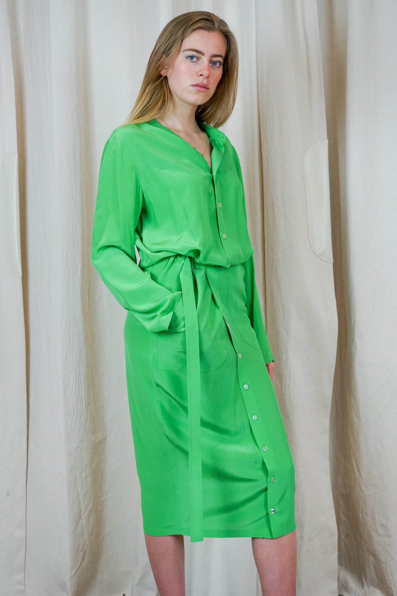 Jogi dress Apple silk