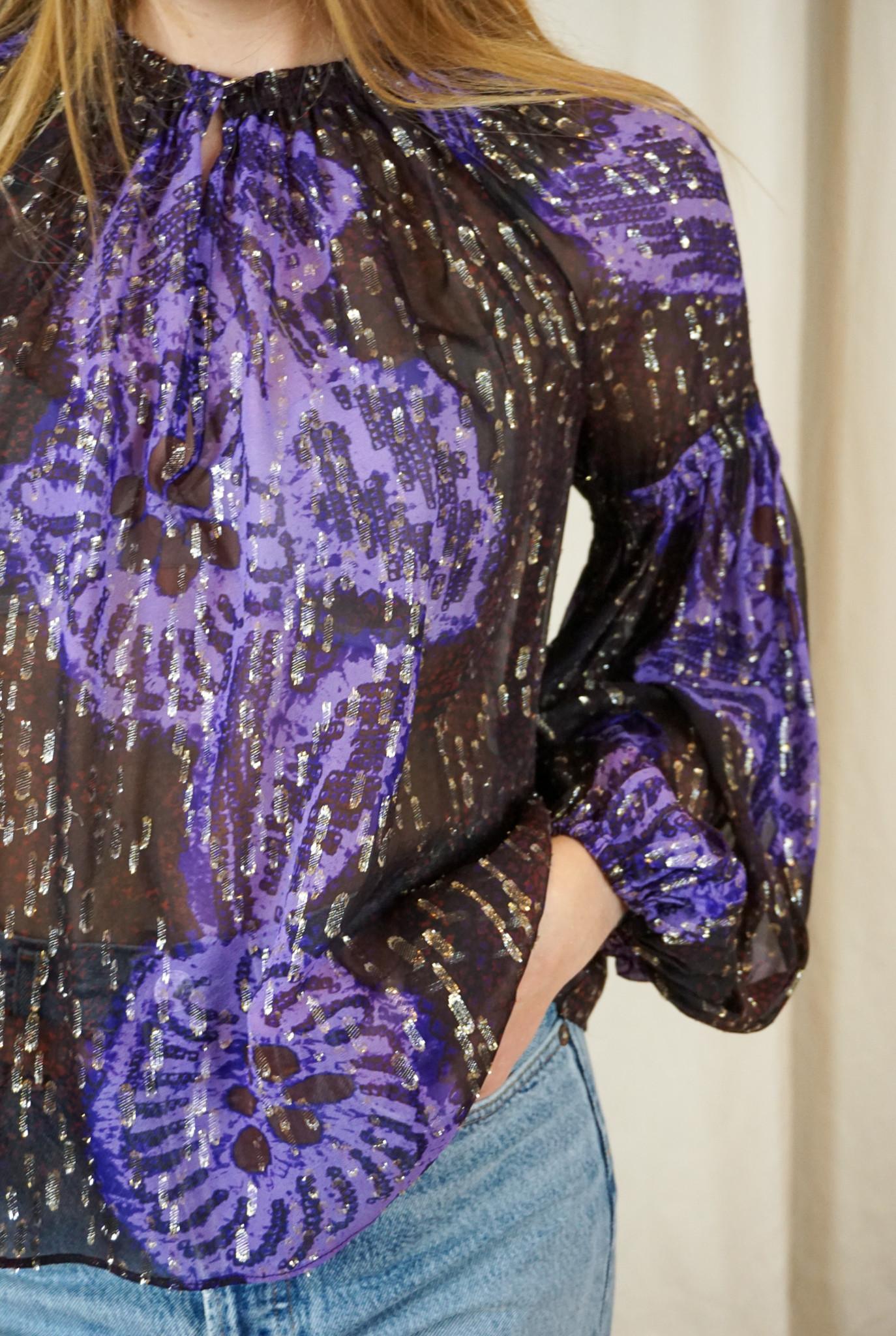 Sanya blouse Violet