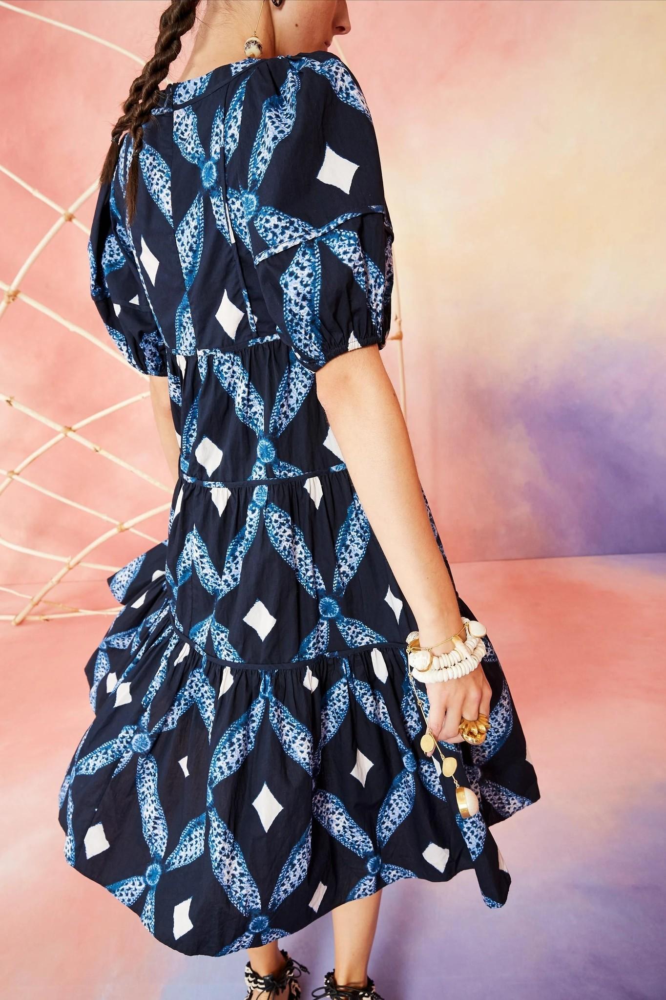 Nora dress Indigo