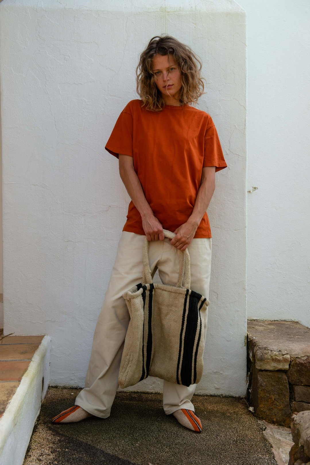 Unisex t-shirt S/S potter's clay