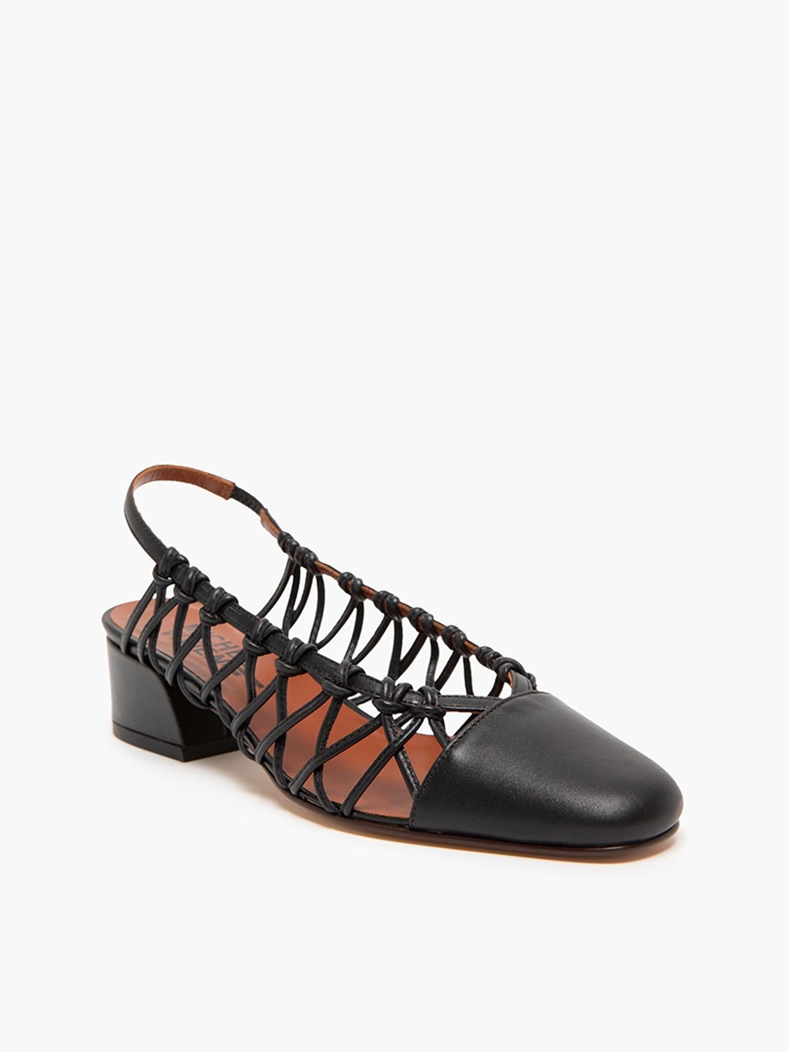 Cross sandal Black Nero