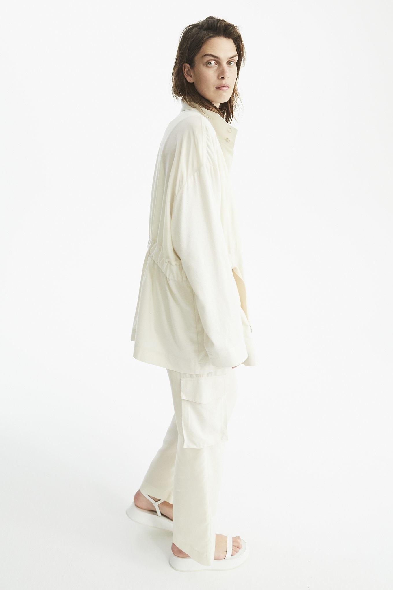 Stevie shirt Cream/White