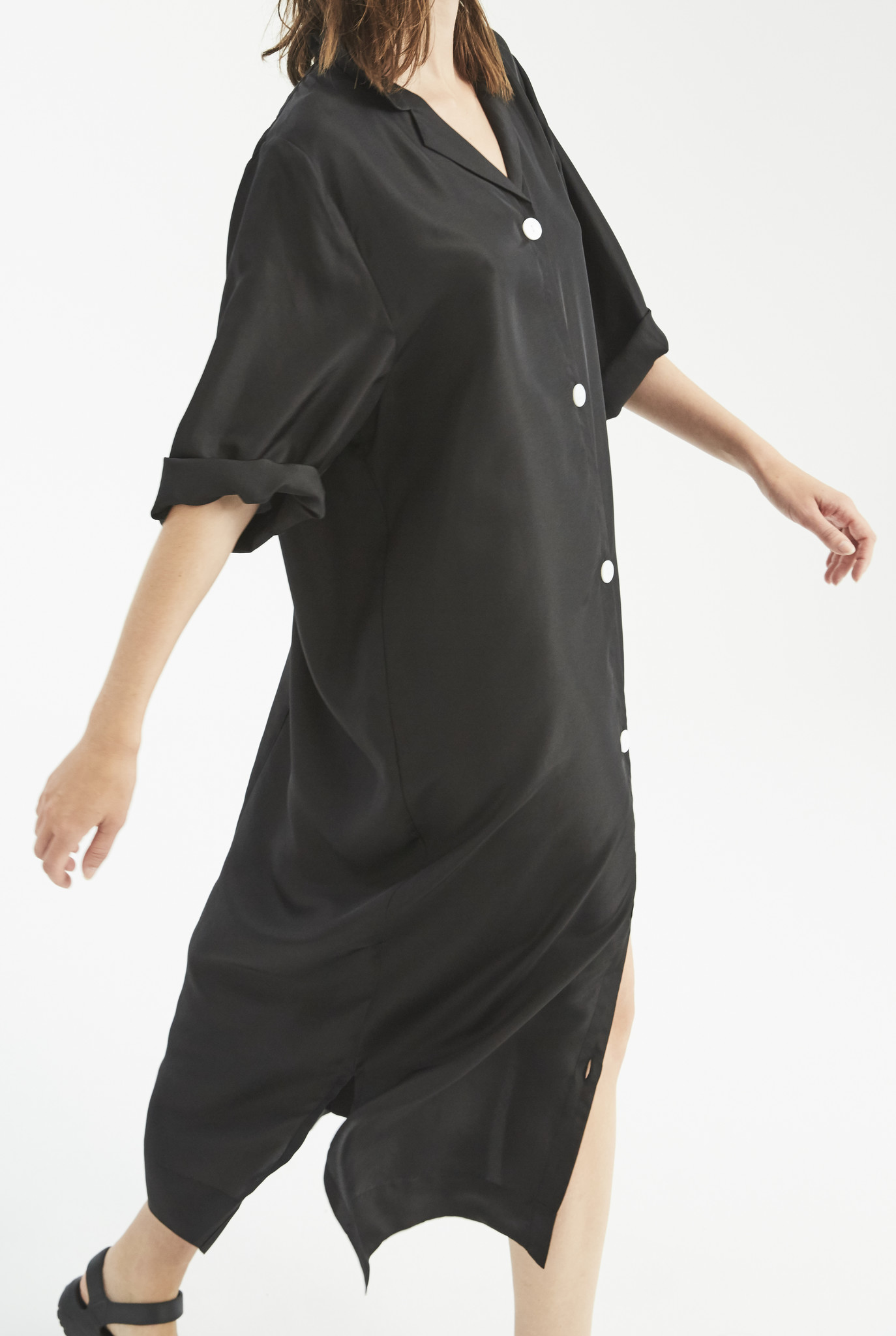 Barney  shirt dress Black