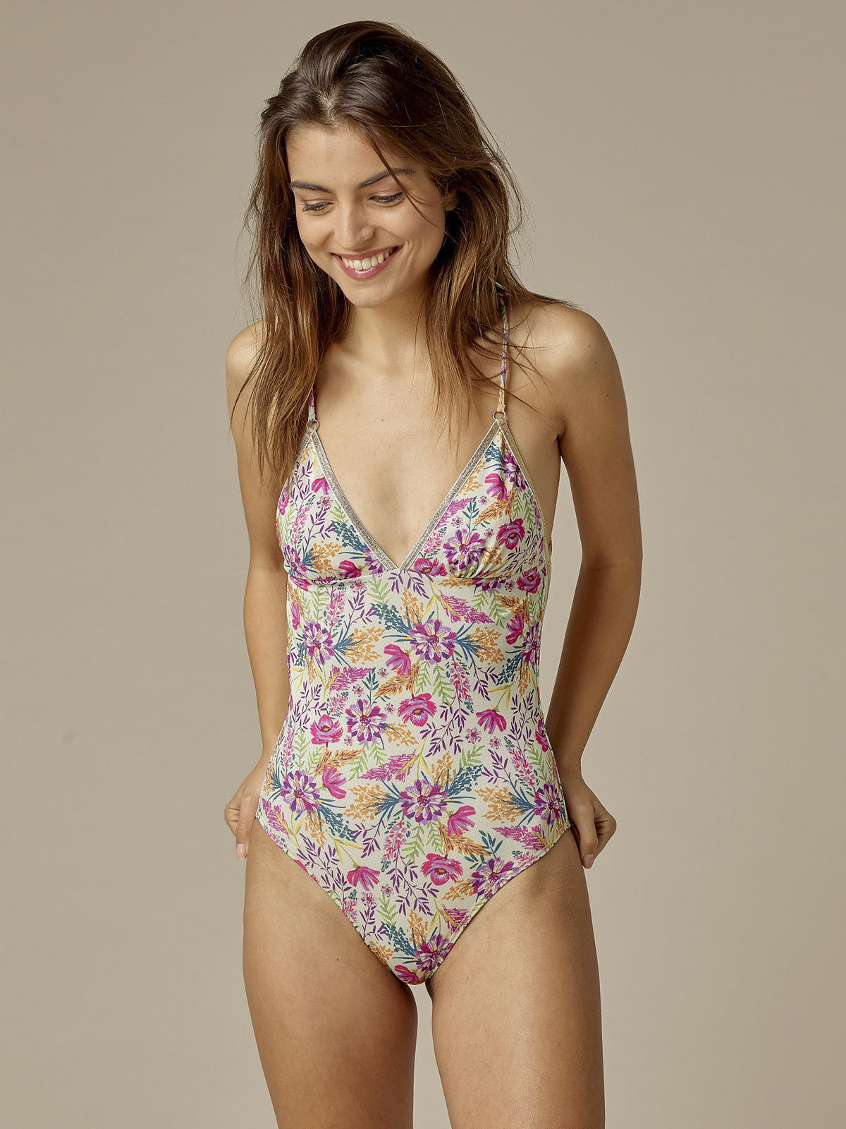 Swimsuit Gilda Summery Flowers