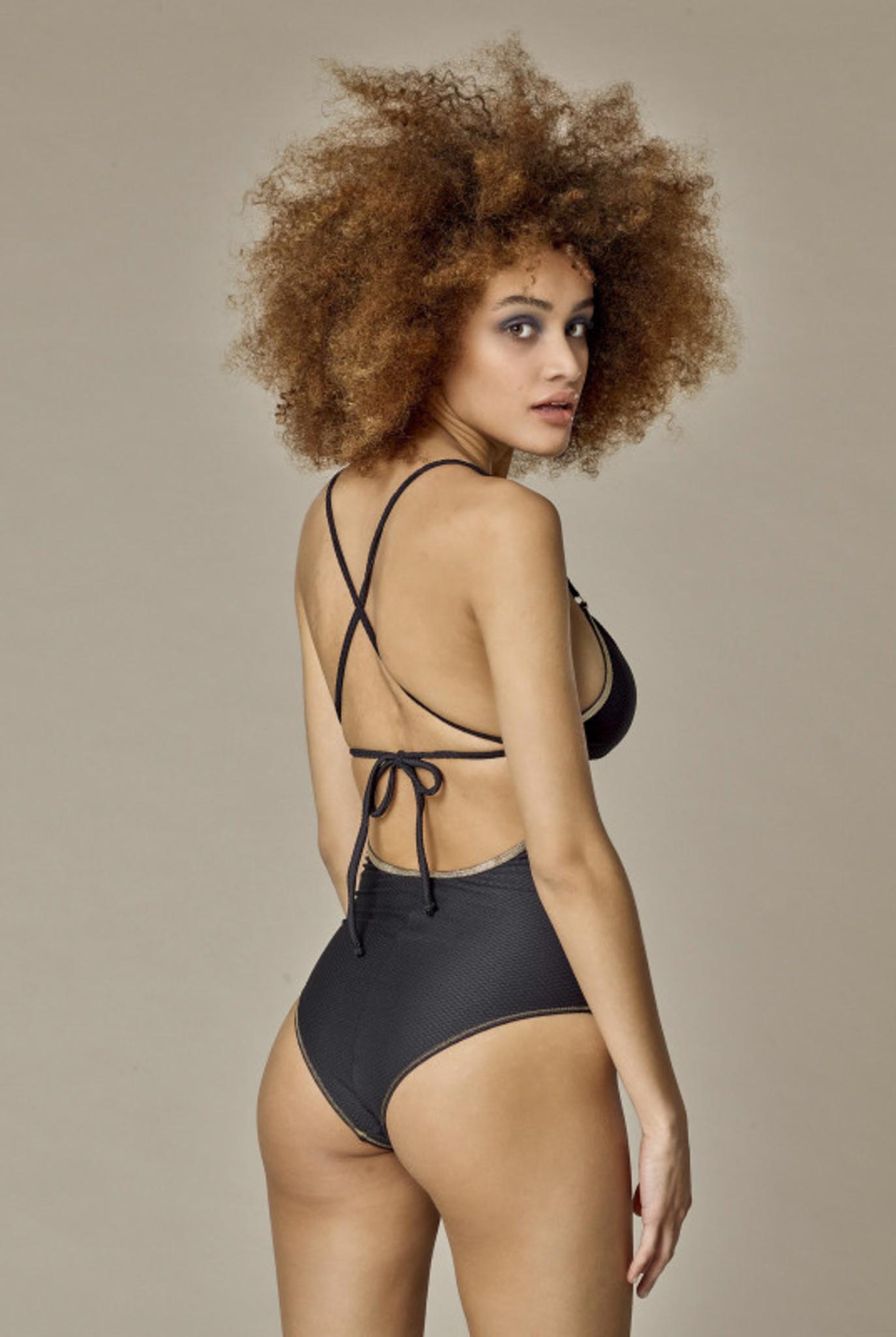 Swimsuit Gilda Black Sun