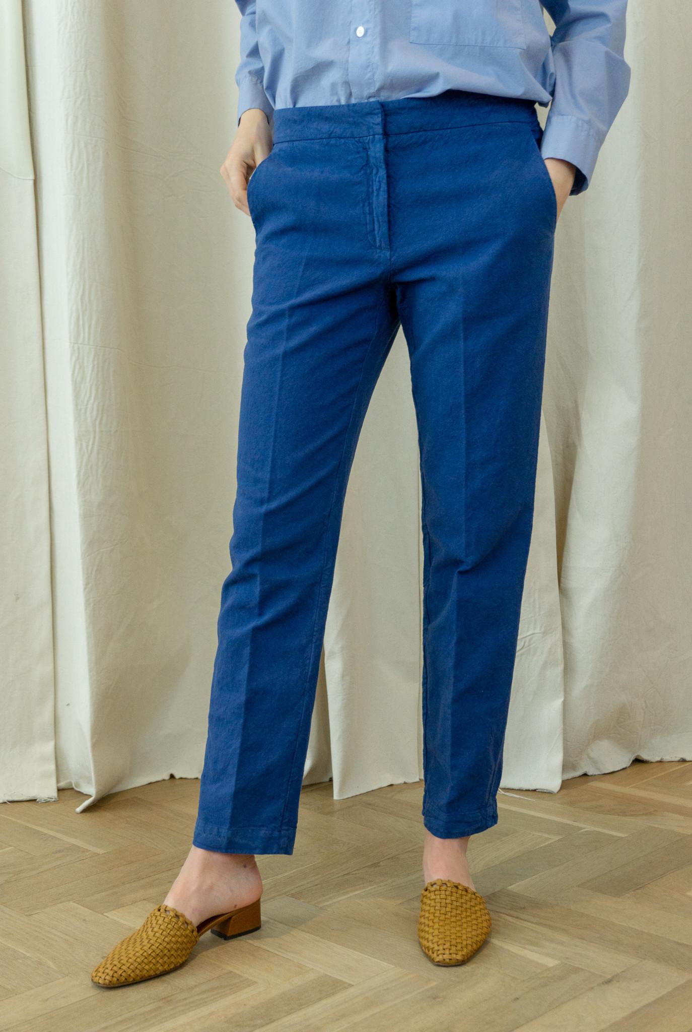 Cigarette trouser ink blue