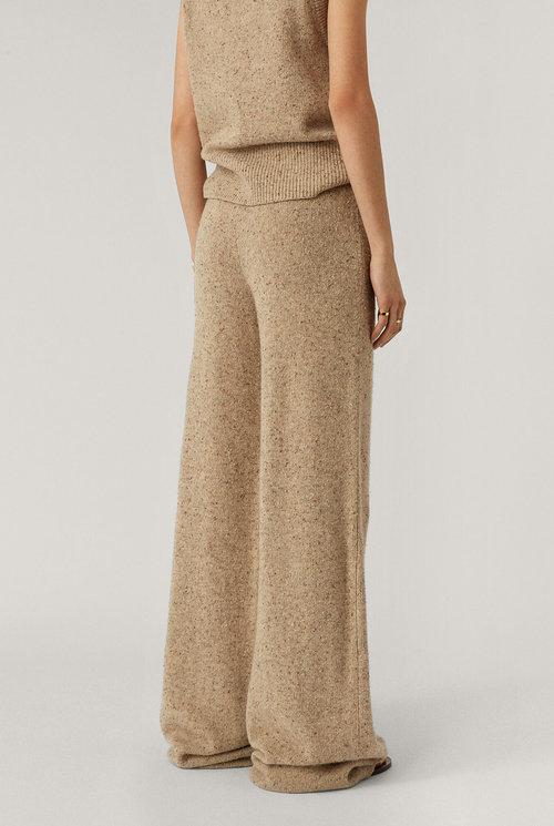 Pants Tweed Knit Blush