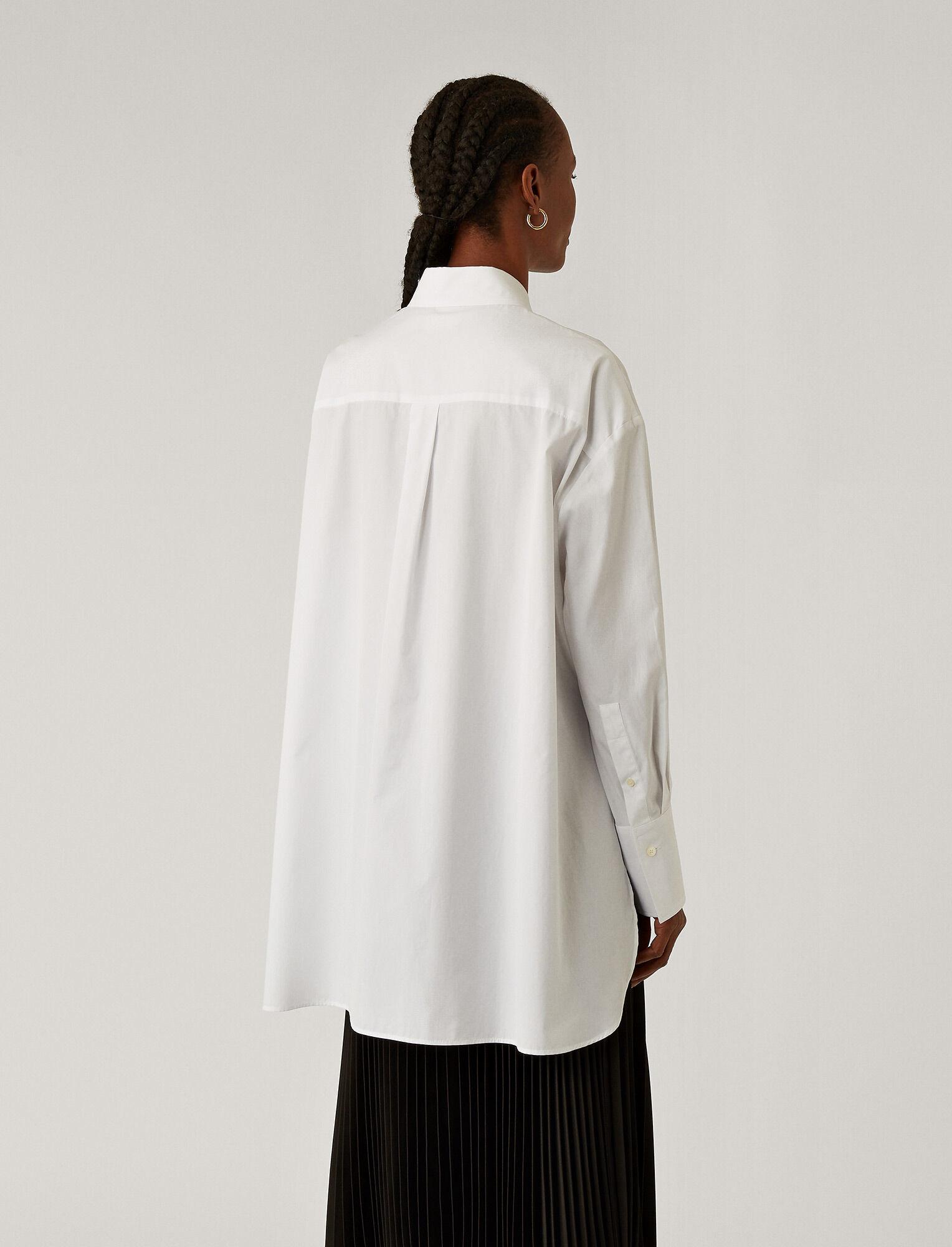 Baji Light Poplin Shirt Optic White