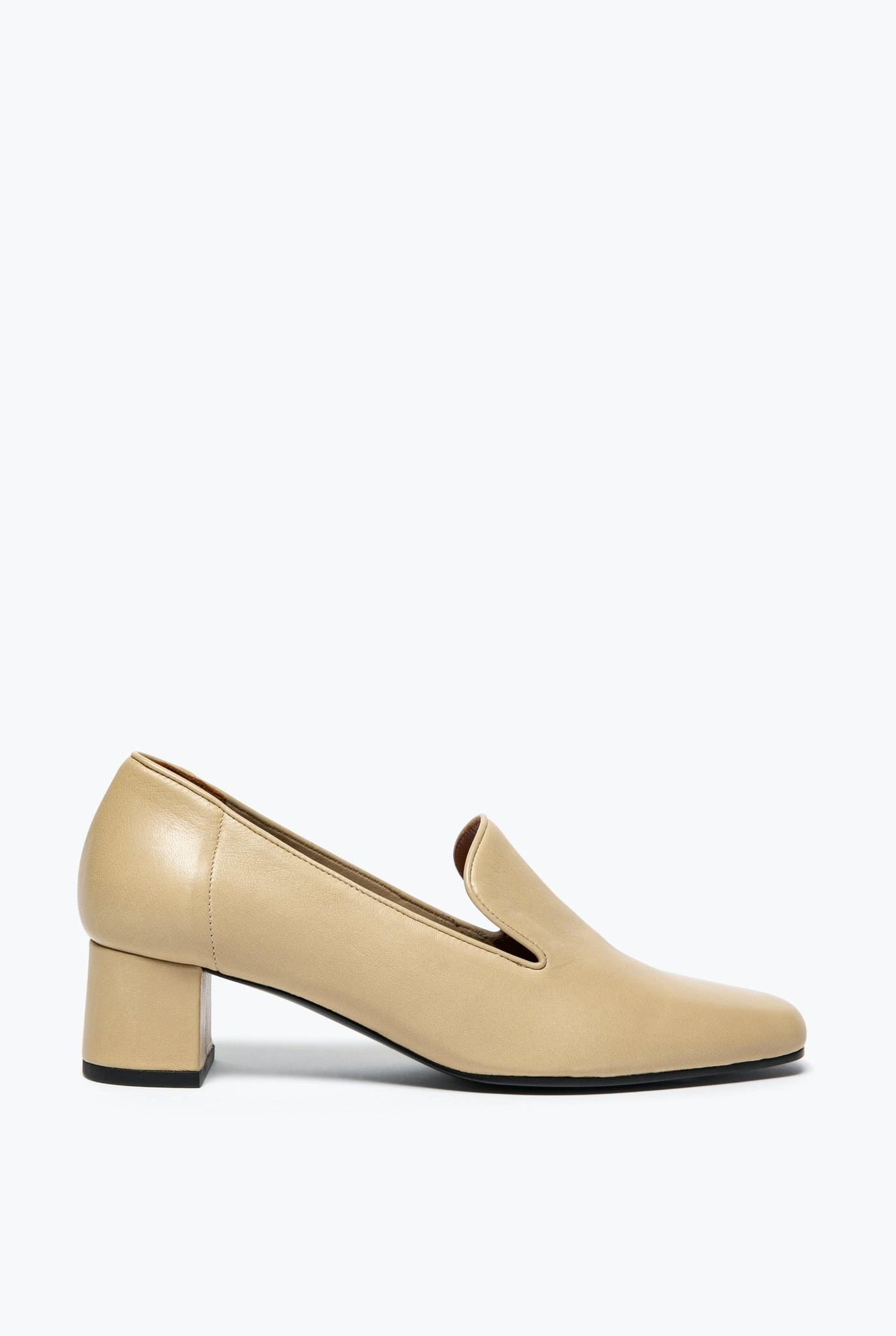 Niko Heeled Loafer Boreal Beige