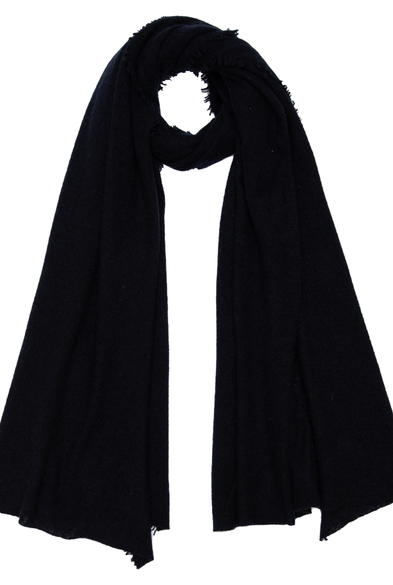 Adriel scarf Dark Blue