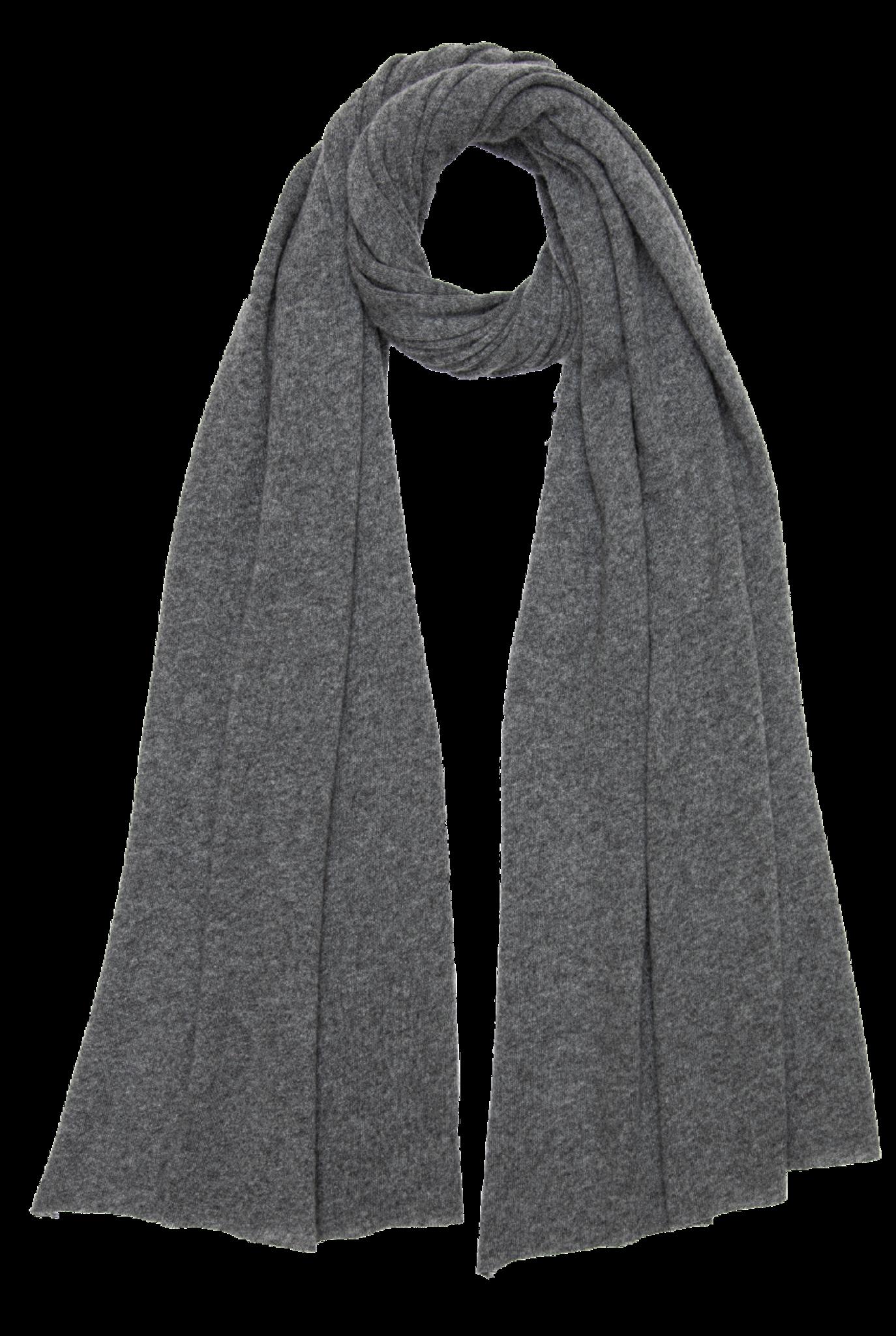 Adriel scarf Dark Grey Melange