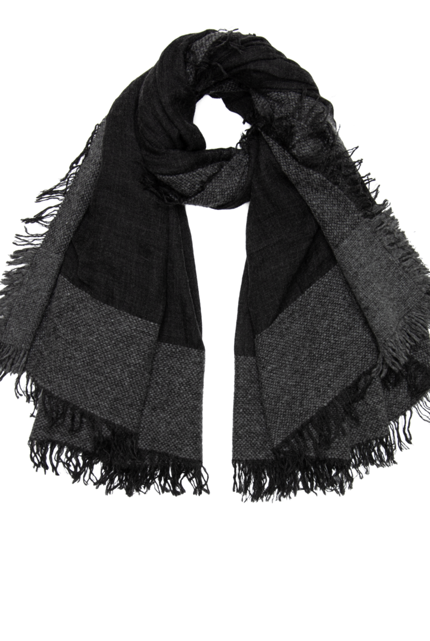 Isadora scarf Charcoal