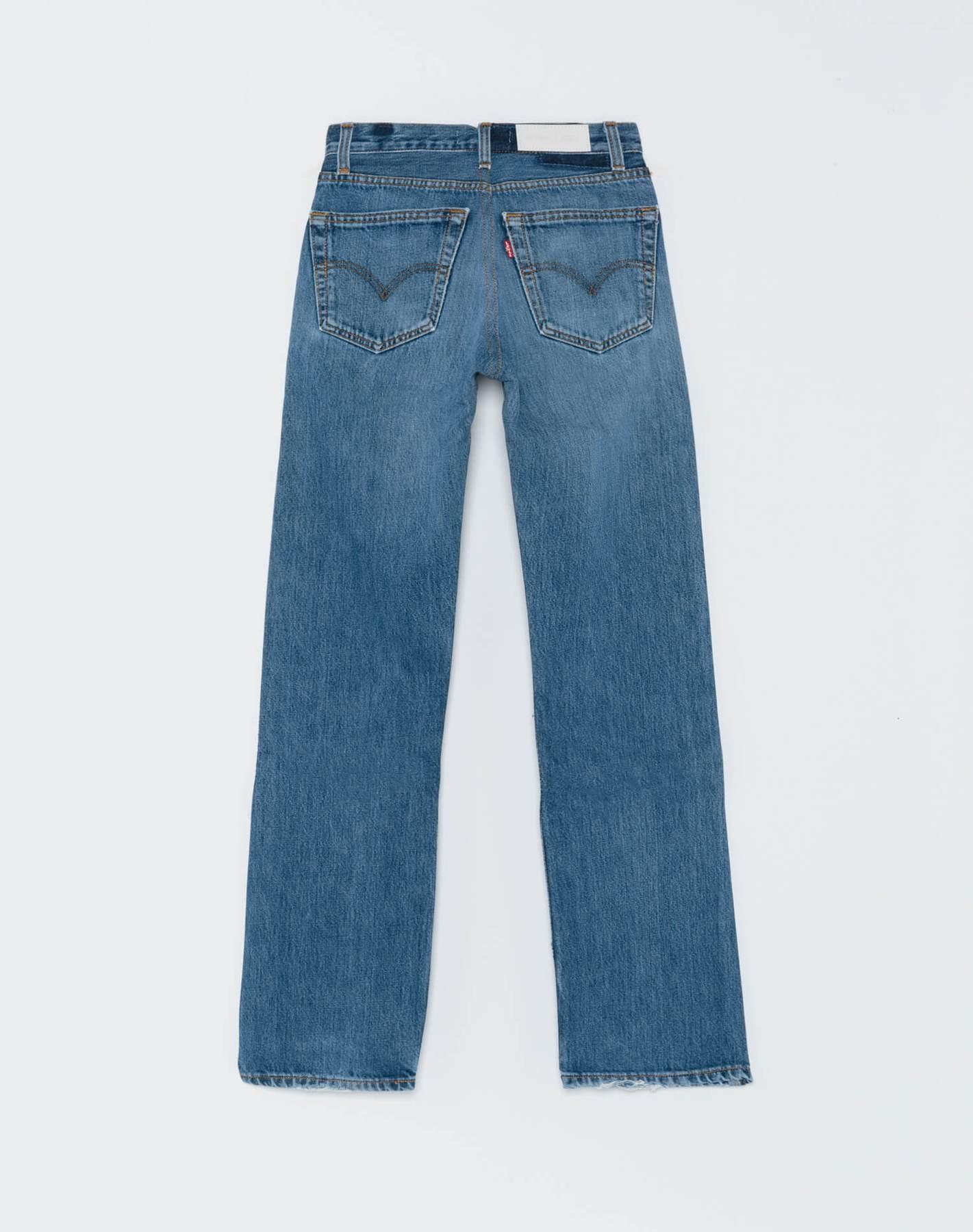 High Rise Loose Jeans Indigo