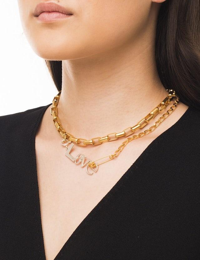 Love chains necklace mix