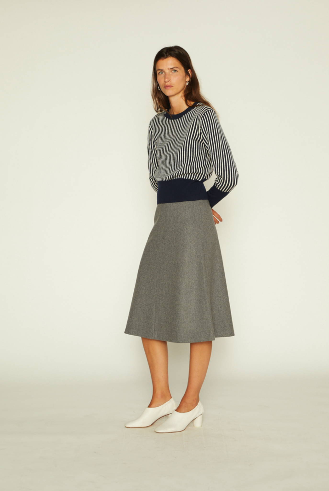 Skirty skirt grey melee