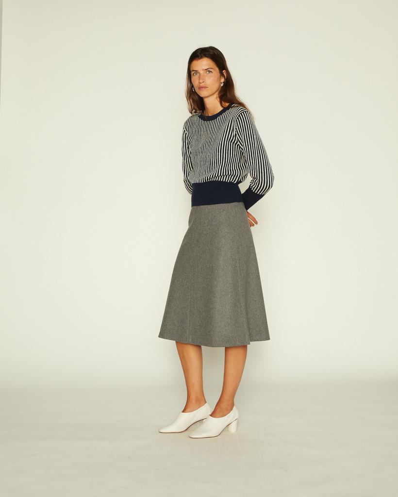 Skirty skirt grey melee