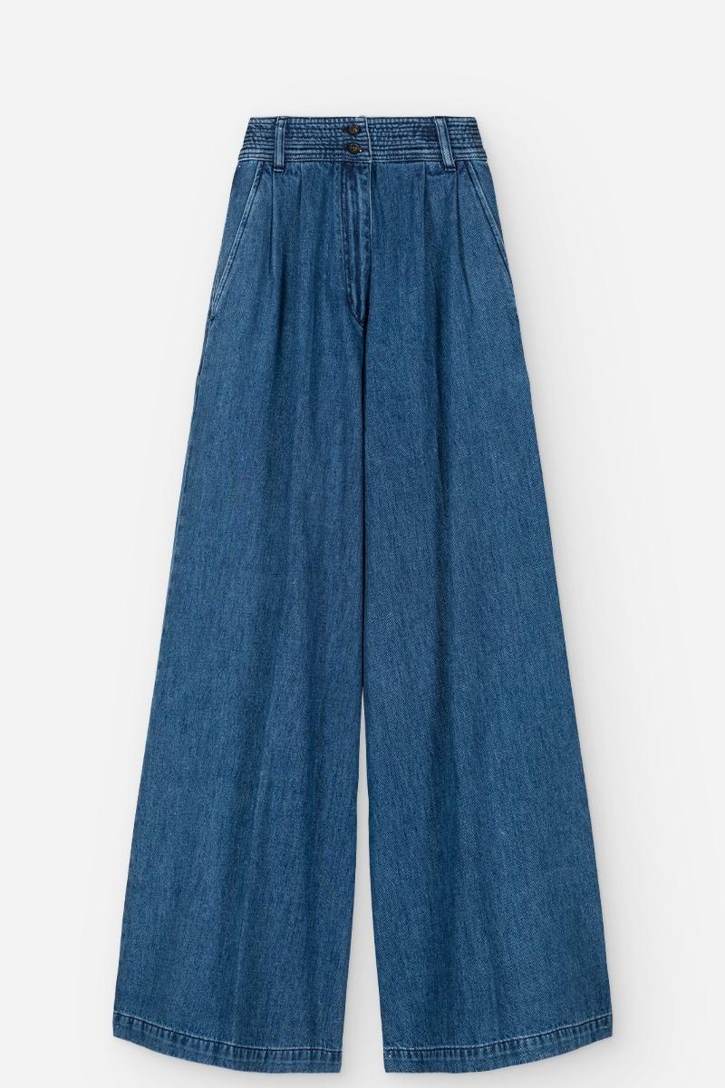Nagia pantalon Indigo
