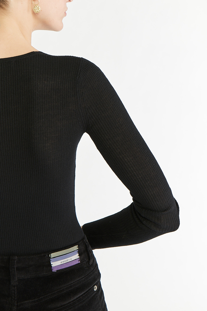 Pesca Sweater Black