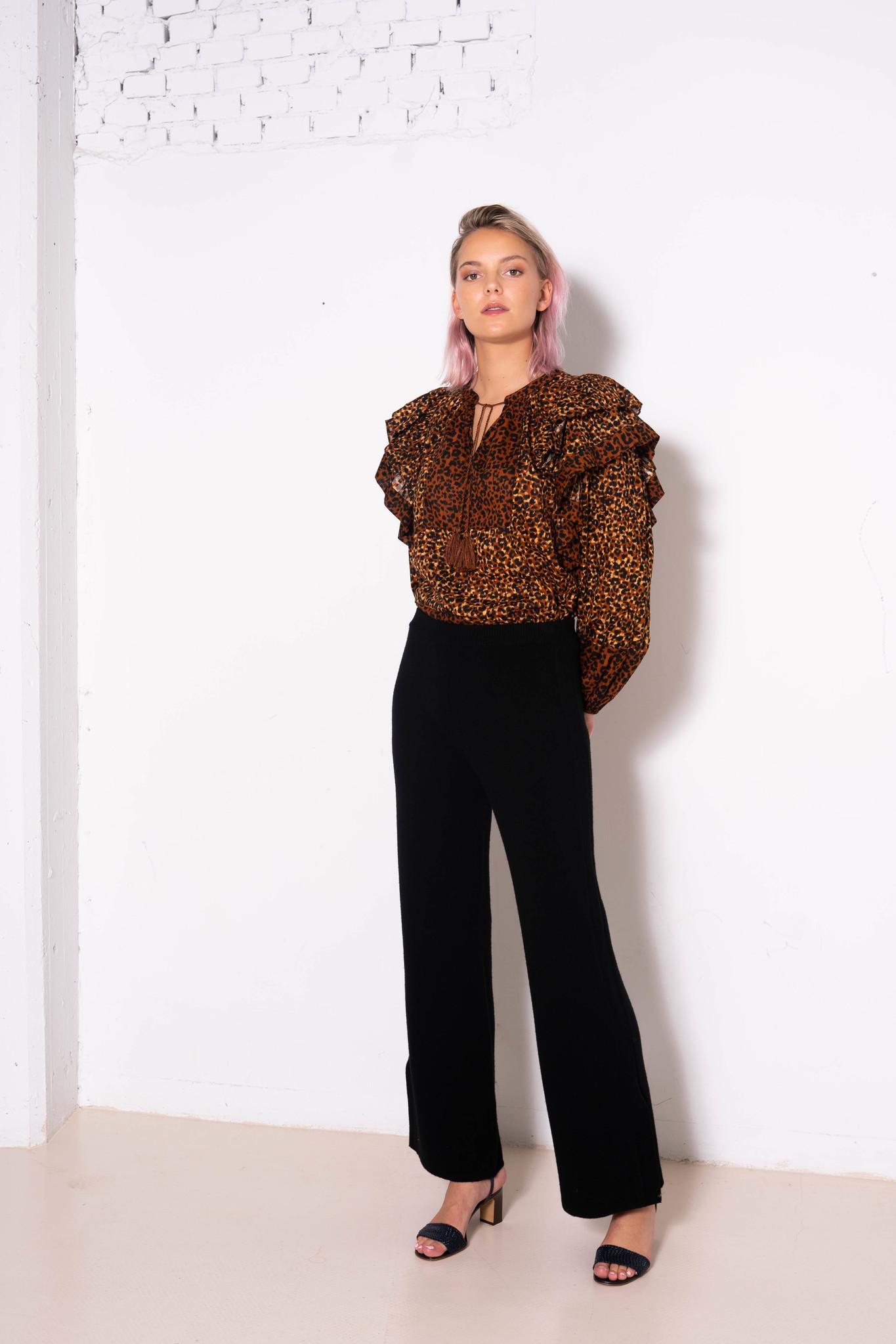 Carissa Blouse Leopard