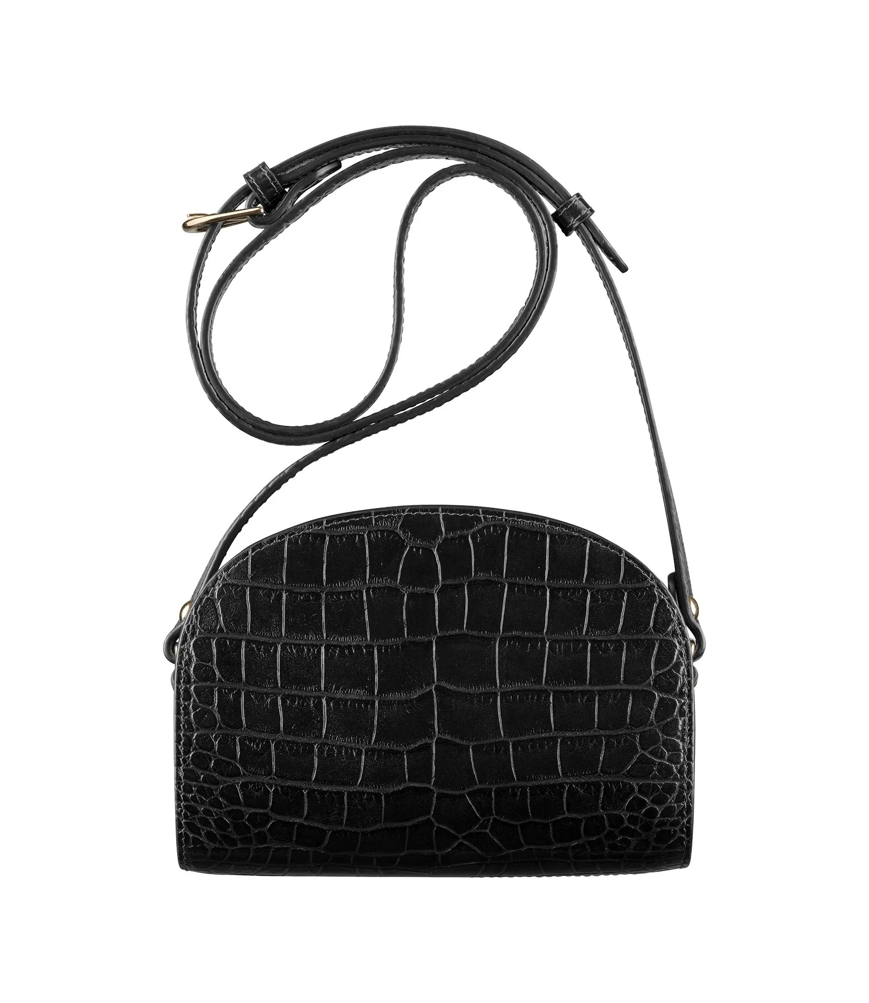 Demi-Lune Mini Bag Black
