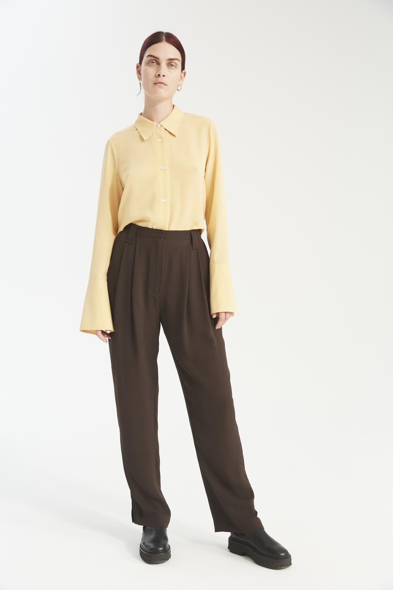 Harry pants dark brown