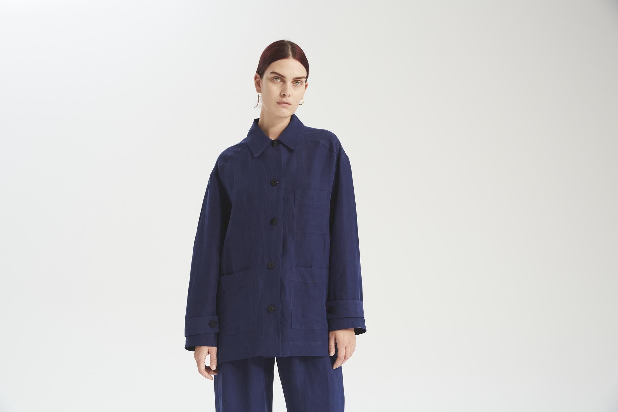 Mara jacket mao blue